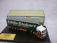 Oxford Diecast/Modern 1:76th Truck MAN Curtainside Eddie Stobart MAN06CS