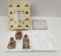 Miss Martha's Collection Mary Josh Christopher Nativity Set - 1992 Enesco 448354