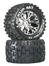 "DuraTrax DTXC3509 Lockup MT 2.8"" Mounted Tires / Wheels Rear C2 Stampede Rustler"