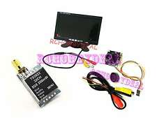 "FPV AV 7"" HD LCD Monitor & 700TVL Mini Cmos Camera & 5.8G TX TS5823 200mW 32CH"