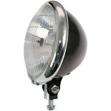 feu phare avant noir 5 3/4 l Bates Style black Headlight Harley Bobber Chopper