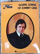 Gospel Songs of Johnny Cash EZ Play Today Vol 48 Piano Keyboard Book