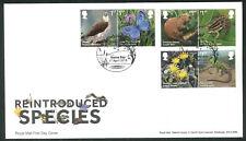 2018 Reintroduced Species FDC -Herne Bay   Postmark -Sent Post Free