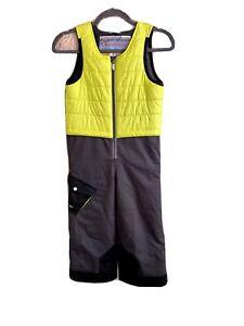 Obermeyer Kids Unisex 5 Snowsuit I Grow Bright Green Gray Black Zip