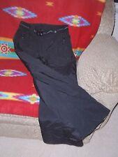 Womens Polar Edge Insulated Wind Water Resistant Snow Ski Pants Black M