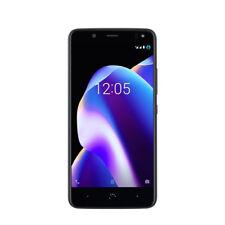 Teléfonos móviles libres negros BQ Aquaris con anuncio de conjunto