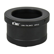 Adaptateur Bague Objectif Monture T Télescope vers Boitier Micro 4/3 Olympus Pan