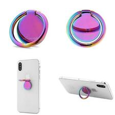 Lenoup Rainbow Cell Phone Ring Stand Holder,Purple Multicolor Grip...