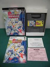 SNES -- SD GUNDAM G NEXT -- Boxed. Can be data save! Super famicom. JP. 15699