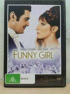 Funny Girl - Barbra Streisand Omar Sharif DVD - REGION 4 AUSTRALIA