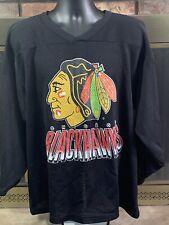 Vintage Chicago Blackhawks NHL Hockey CCM Authentic Jersey MENS Size Large RARE