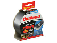 UniBond Extra Strong Waterproof Power Tape 50mm x 25m - Gaffa, Cloth, Duct, Duck