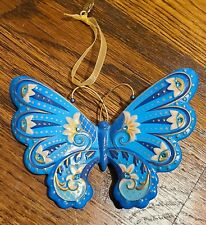 2019 Graceful Butterfly ~ Hallmark Premium Keepsake Ornament ~ Metal