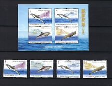 CHINA TAIWAN 2006 Dolphin, Whale Fish Stamp + S/S
