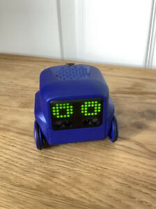 Boxer Interactive A.I. Children's Toy Robot with Personality and Emotions (Blue)