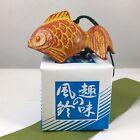 Japanese Furin Wind Chime Nambu Cast Iron Kingyo Orange Goldfish Made in Japan