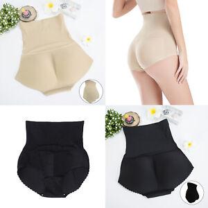 Women Buttock Padded Underwear Briefs Knickers Bum Butt Lift Enhancer Pants