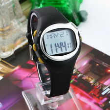 Pulse Heart Rate Monitor Wrist Watch Calories Counter Sports Fitness Exercise KK