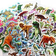 10sheets Cartoon Dinosaur Stickers Kawaii Stationery Kids Animal PVC Stickers