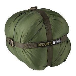 HALO Recon 5 Gen II Sleeping Bag -4°F / -20°C Military Spec Tactical GREEN