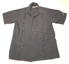 Dragonfly Bud Light Hawaiian Shirt Embroidered VLV Rockabilly Mens Medium