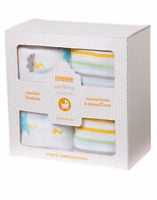 NWT Gymboree Stormy Clouds Muslin Swaddle Blankets 2 Pack Baby Boy