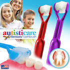 2-PK: Autisticare  The Only Child-Safe 3-Sided Toothbrush  Autism Spectrum USA