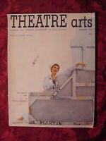 THEATRE ARTS August 1949 Mary Martin George Bernard Shaw Noel Coward
