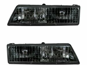 For 1995-1997 Mercury Grand Marquis Headlight Assembly Set 73116KH 1996