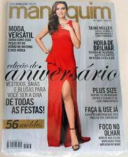 MANEQUIM  BRAZILIAN MAGAZINE 677 - ANNIVERSARY ISSUE -  W/ SEWING PATTERNS