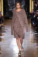 New Stella McCartney Chunky Knit Asymmetric Sweater Dress