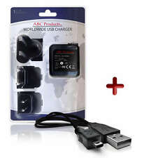 Fuji Fujifilm Finepix T500/T550/T560 Fotocamera Digitale USB + CARICA BATTERIA