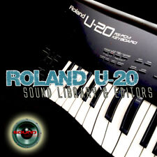 from ROLAND U-20 Original Factory and New Created Sound Library & Editors