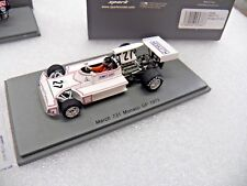 1/43 Spark model S5366 March 731 Hesketh James Hunt Monaco GP 1973