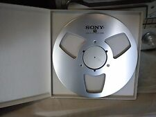 "New! Sony NAB 10.5"" inch Metal Reel for 1/4"" tape- Mint Condition"