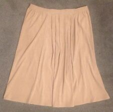 "Skirt Beige Full Large Material Fabric Brown Size 36"" Waist Costume Fancy Dress"