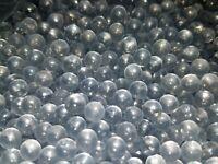 250 Premium Heavy Airsoft BBs 6mm Clear Glass 0.28g Round Balls Air Soft Pellets