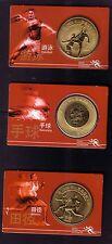 China VR 3 Olympia Münzen zum Sonderpreis