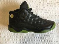 Nike Air Jordan Kids Toddler size 10 / EU27 Retro TD Jordan Black/Altitude Green