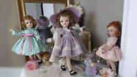 "CISSY SWEET VIOLET Winnie MADAME ALEXANDER 18"" 1954 WALKER DOLL MULTI-JOINTED!"