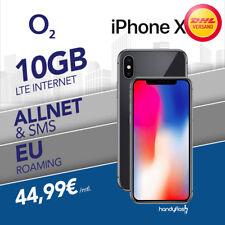 Apple iPhone X - 64GB mit o2 Free M Handyvertrag 10GB LTE nur 44,99€ monatlich.