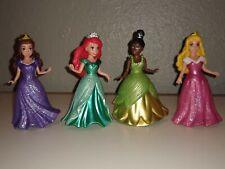 Disney Princesses MagiClip Dresses Lot of 4 Free US Shipping