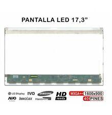 PANTALLA PORTÁTIL LED 17.3 LTN173KT02 B173RW01 N173FGE LP173WD1 B173HW02 24H ENV