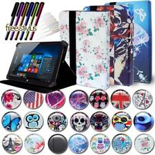"""FOLIO LEATHER STAND CASE COVER For Various 7"""" 8"""" 10"""" Xgody Tablet + Stylus"""
