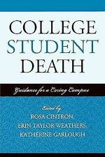 American College Personnel Association: College Student Death : Guidance for...