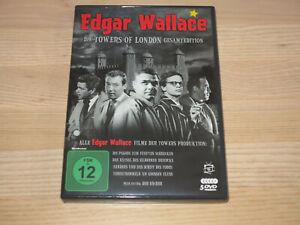 """Edgar Wallace - Die Towers of London Gesamtedition"" - 5 DVD - wie NEU"