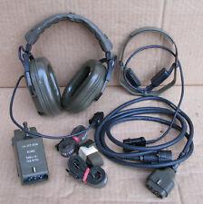 Headset / Sprechsatz Funk Telemit H-267 Bundeswehr SEL SEM 25 35