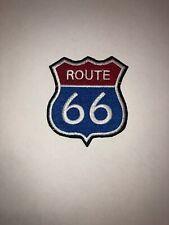 Route66 Patch Aufnäher Skull Biker Motorrad Patches Set Aufbügler Groß