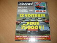 AJ N°21 1986 Y 10 4 WD.Rover 820 Si.Santana S 410