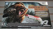 Cabela's Dangerous Hunts 2013 Bundle With Gun Nintendo Wii Brand New Sealed!